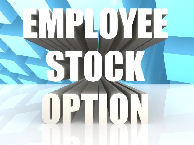 Stock options in lieu of salary